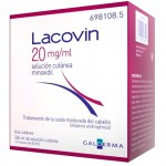 Lacovin 20 mg/ml solución cutánea 4 x 60 ml