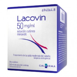 Lacovin 50mg/ml Solución Cutánea 4X60ml