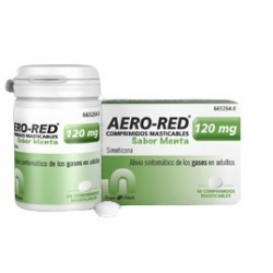 Aero-Red Sabor Menta 120mg 40 Comprimidos