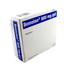Bemolan 800mg Gel 30 Sobres