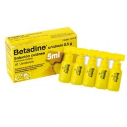 Betadine Solucion Cutanea 10 Unidosis