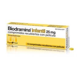 Biodramina Infantil 12 Comprimidos