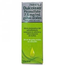 Dulcolaxo Picosulfato 7,5mg Gotas Orales 30ml