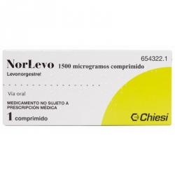 Norlevo 1500 Mcg 1 Comprimido
