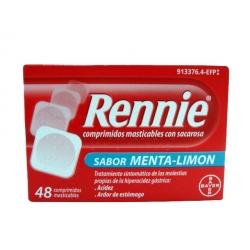 Rennie con Sacarosa 48 Tabletas