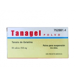 Tanagel Polvo 20 Sobres