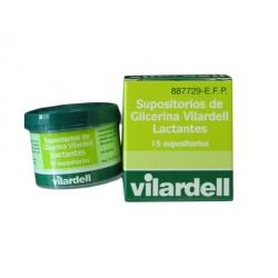 Vilardell Lactantes 15 Supositorios Tarro