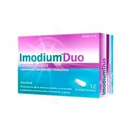Imodium Duo 12Comprimidos