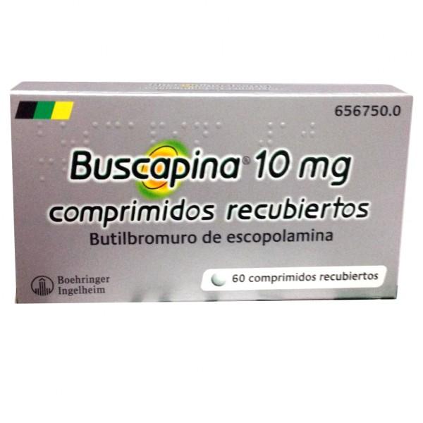 buscapina 10 mg 60 comprimidos recubiertos precio
